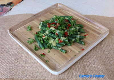 Carole's Chatter: Gingered Beans with a Mustard Vinaigrette