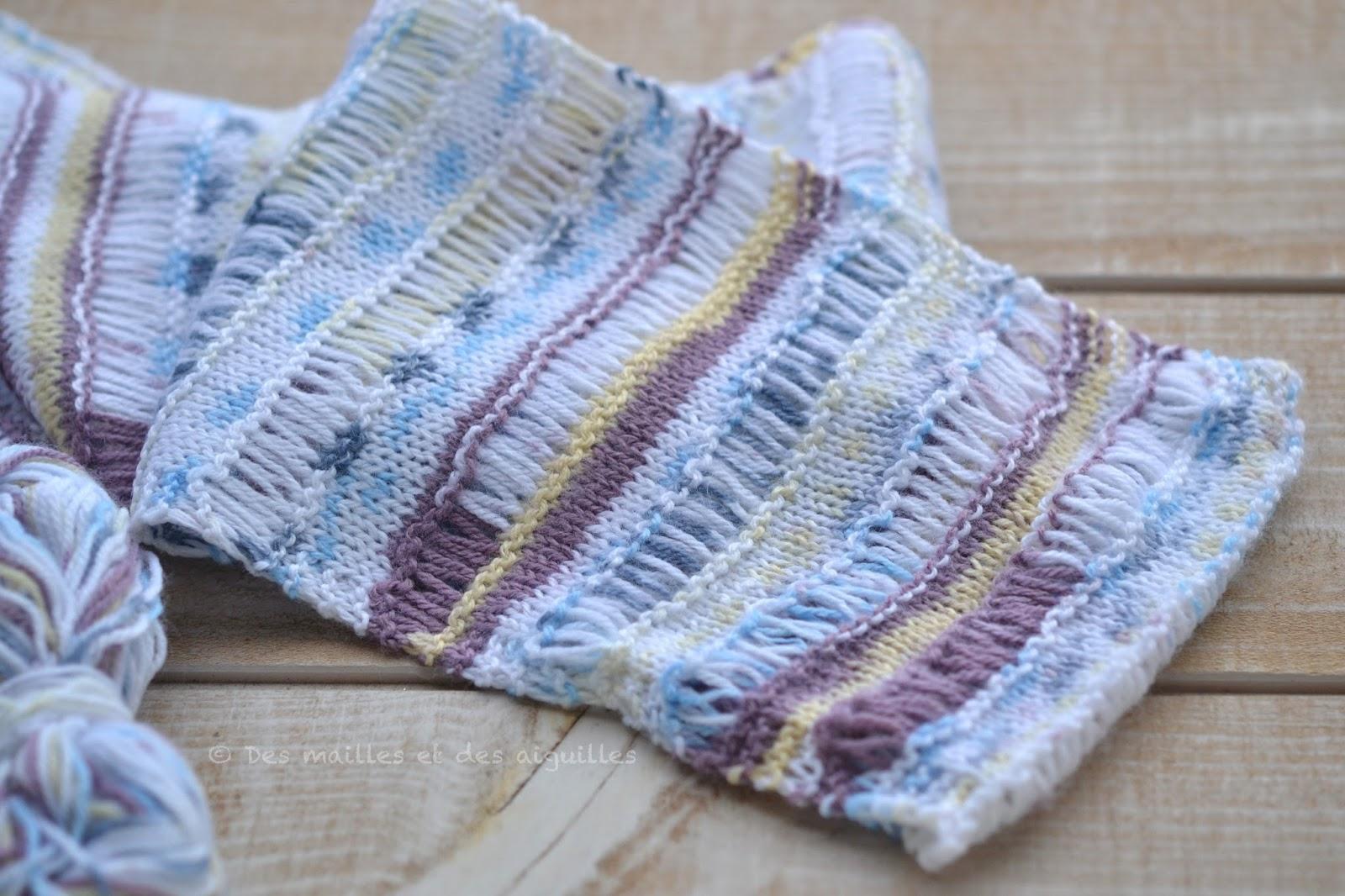 tricoter 4 mailles dans 1 maille
