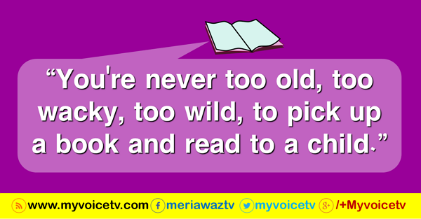 You're never too old, too  wacky >>