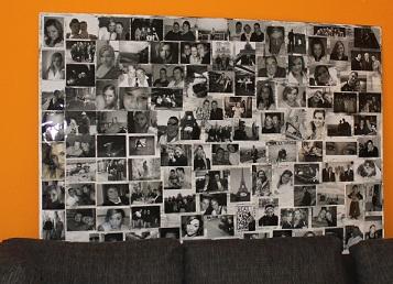 beart wand collage. Black Bedroom Furniture Sets. Home Design Ideas