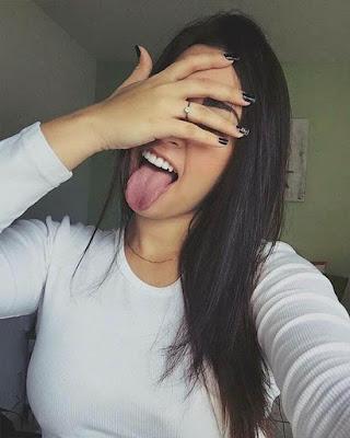 selfie con la cara tapada divertida tumblr