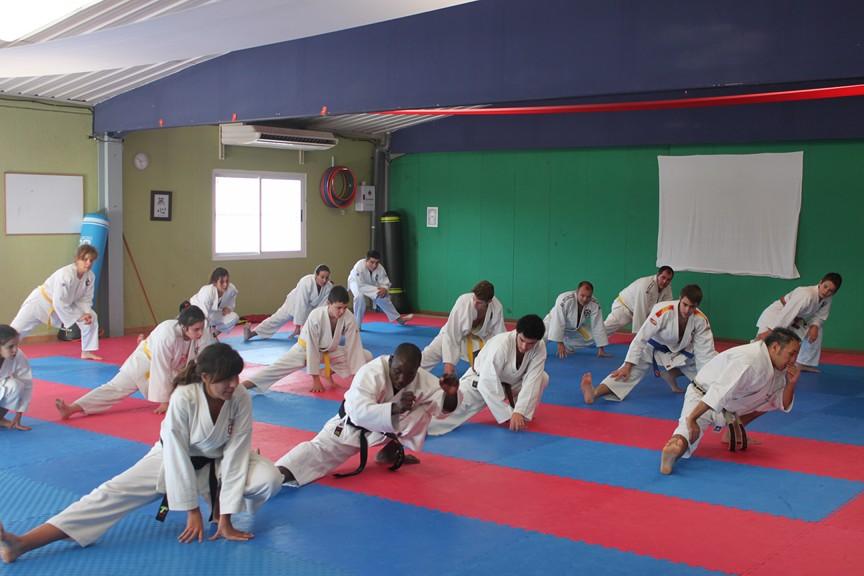 Resultado de imagen de karate calentamiento