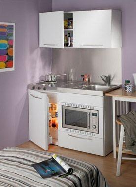 Desain dapur mini dari Elfin Kitchens