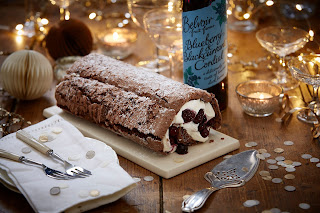 Black Forest Gateau Roulade