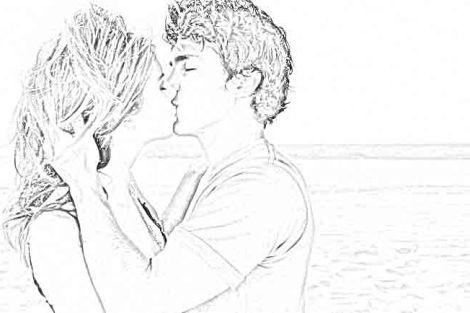 cowok suka minta cium
