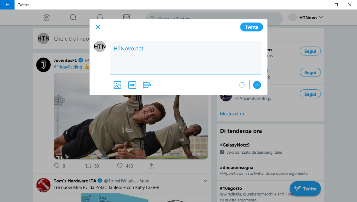 Twitter-PWA-tasto-aggiungi-altro-tweet