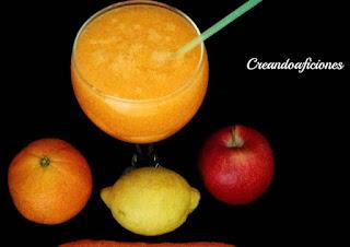 Batidos de frutas para broncearte