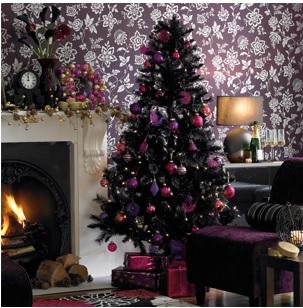 cómo hacer un rincón navideño, ideas para decorar la sala en navidad