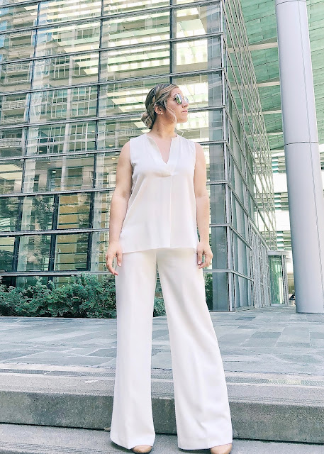 How to Wear all White and Pull it off // Style Blogger // peplumsandpie.com