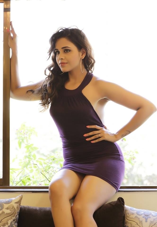 Parina Mirza thunder thighs, Parina Mirza in tight dress, Parina Mirza purple dress photos
