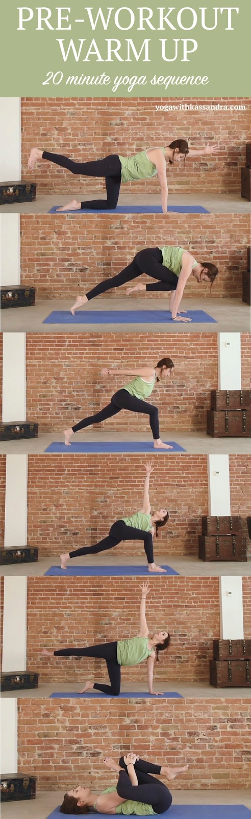how to warm up and prepare the body for yoga