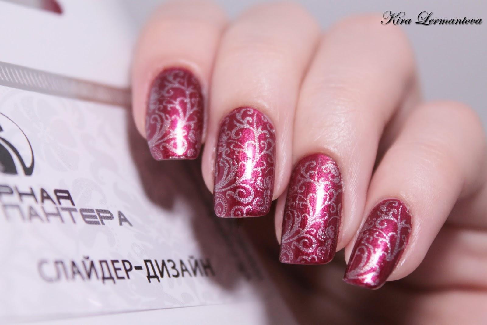 ажурный дизайн ногтей фото