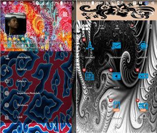 BBM Mod Aksara Apk 3.1.0.13 Batik Themes