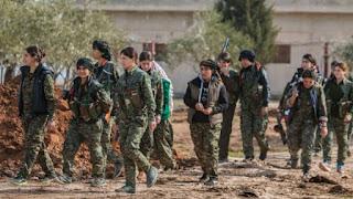 معلومات عن قوات وحدات حماية الشعب الكردي