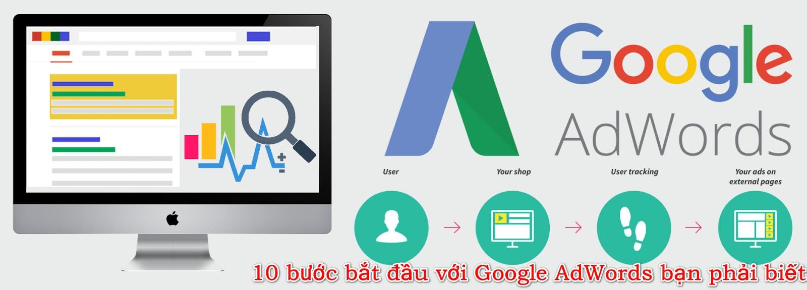 Video khóa học 10 bước bắt đầu với Google AdWords bạn phải biết