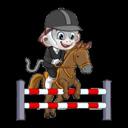 Logo dan Lambang Cabang Olahraga PON Jabar 2016 Berkuda