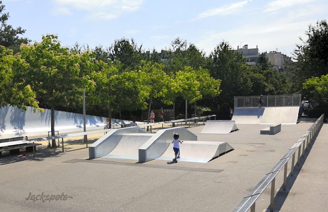 Skatepark parc luther king 2018