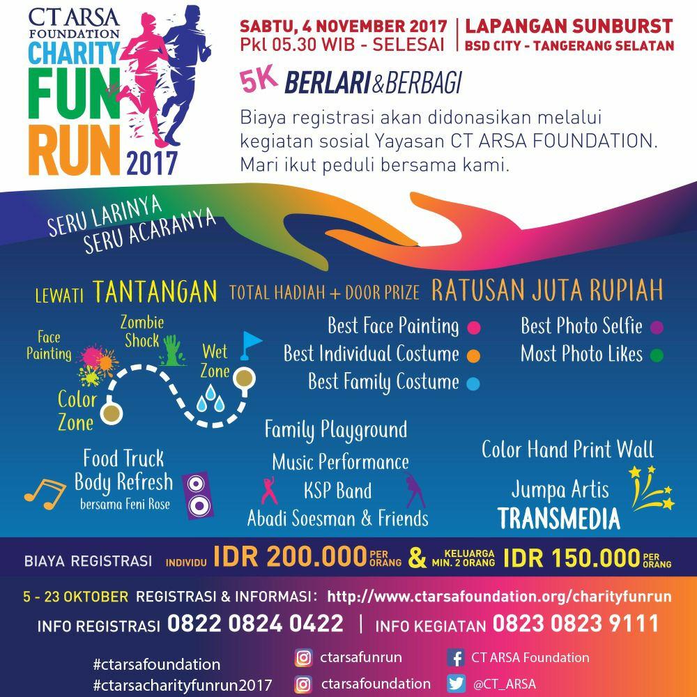 CT ARSA - Charity Fun Run • 2017