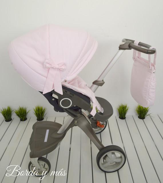 capota silla Stokke Xplory rosa