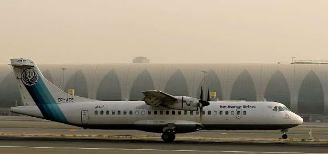 Um avião iraniano que fazia um voo doméstico caiu neste domingo de manhã (18) na região montanhosa do sudoeste do Irã
