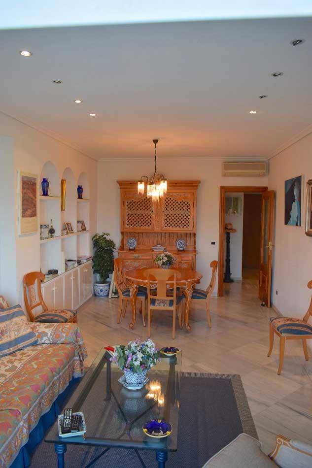 apartamento en venta paseo pilar coloma benicasim salon