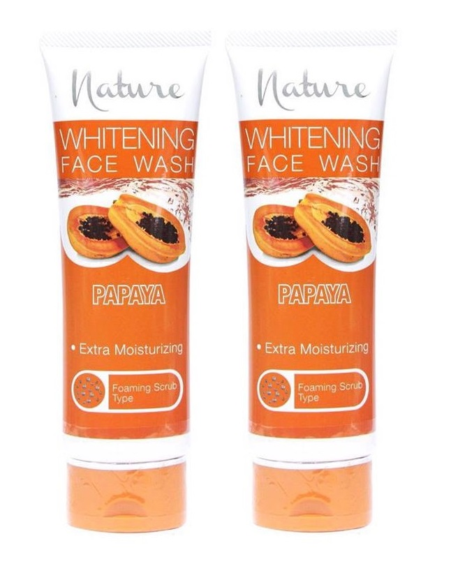Pack Of 2 - Nature Papaya Face Wash 100 ml