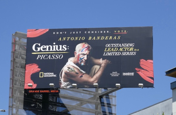 Genius Picasso 2018 Emmy nominee billboard