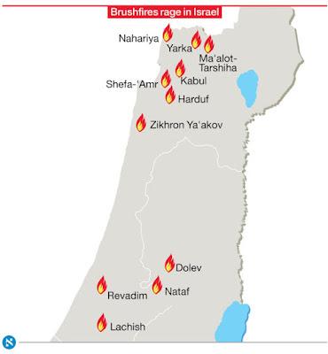 Israel Di Landa Kebakaran Besar