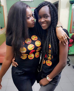 Mercy Aigbe And Daughter Step Out In Matching Outfit