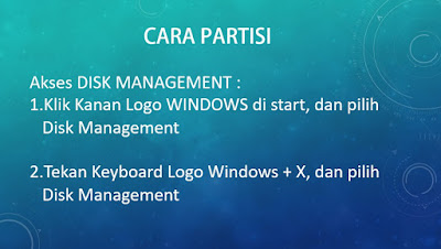 Cara Buka Disk Management Windows 10