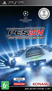 Game PES 2014 ISO PSP