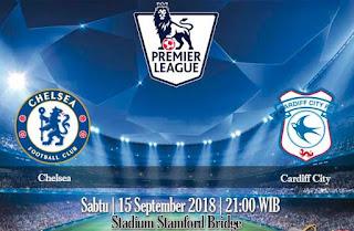 Prediksi Chelsea vs Cardiff City 15 September 2018