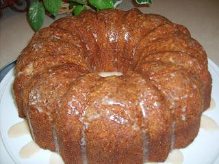 Preacher Cake Made With Cake Mix