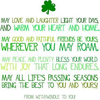 Irish St Patrick's day sayings 2018