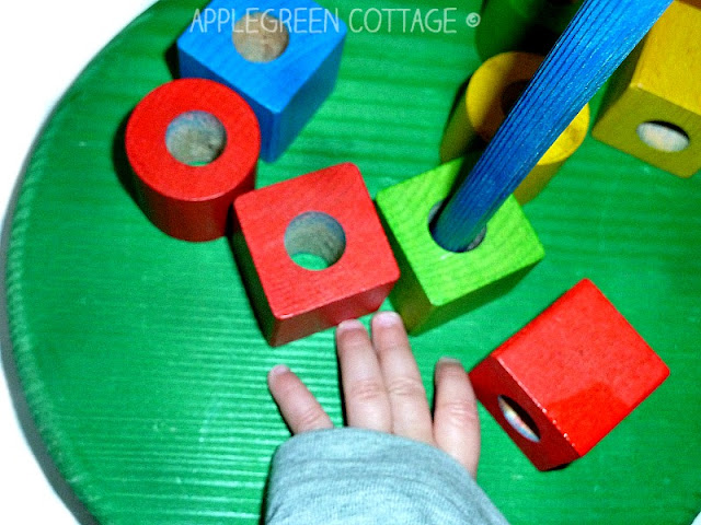 Here's a simple tutorial for you to make a colorful homemade wooden stacking toy for your child. It also makes an excellent DIY present for your friends' toddlers!