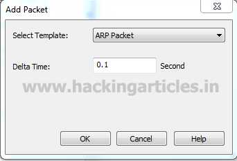 Packet Crafting with Colasoft Packet Builder