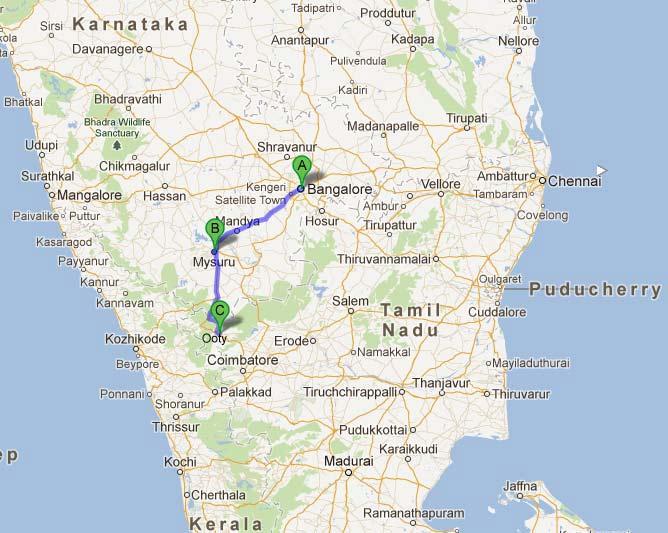 Ooty In India Map.John Sullivan Of Esi Founder Of Nilgiris Hills Tamil Nadu