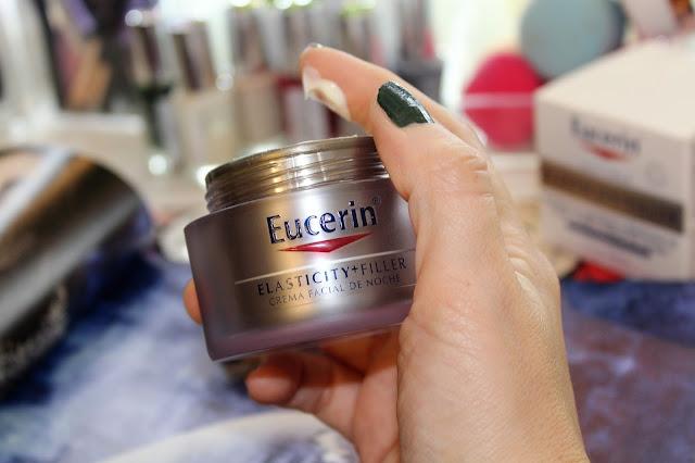 Eucerin Elasticity + Filler crema de noche