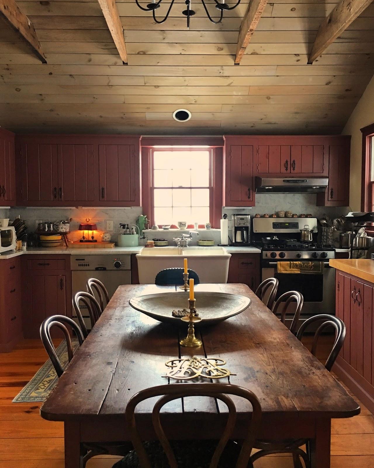 My Cottage Kitchen W/ Farm Table