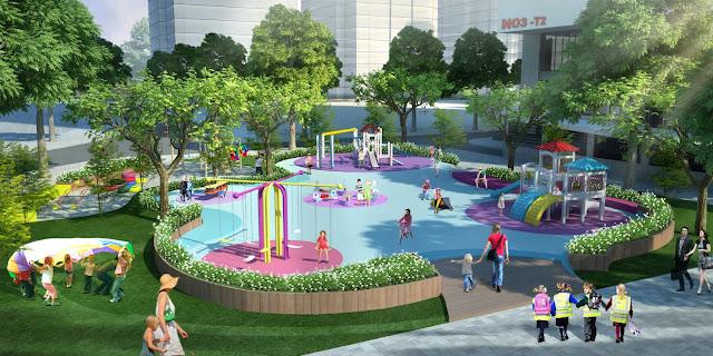 Không gian vui chơi cộng đồng The K Park