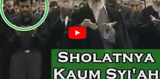 Beginilah Kalau Kaum Syiah Shalat [Video]