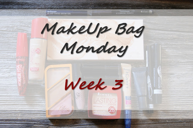 MakeUp Bag Monday - Week 3 - Rimmel, Revitalash, Zoeva, Golden Rose, Catrice ( inspired by Serein Wu )