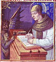 Medieval 'Printer's Devil'