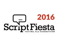 Logo konkursu Script Fiesta