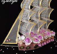 Конфетные корабли. Мастер-класс Ирины Цыбун