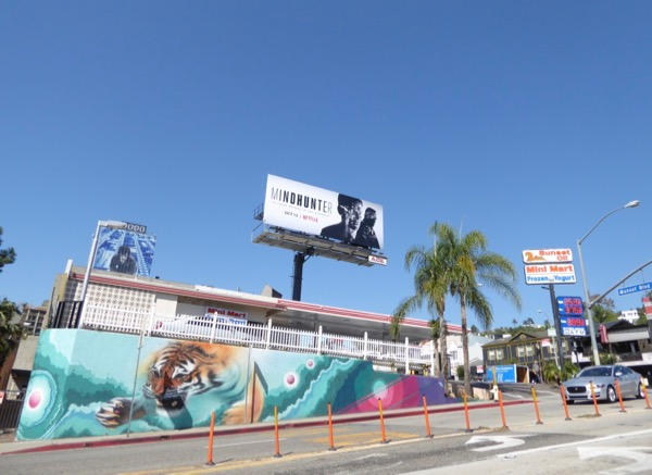 Mindhunter TV series billboard