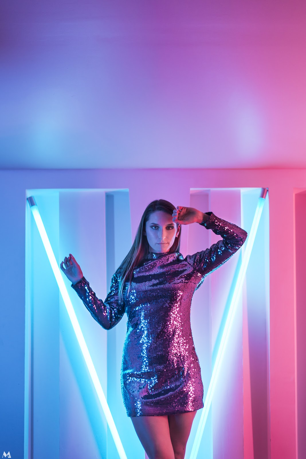 NEON : lumière sur ma dernière séance photo en studio!