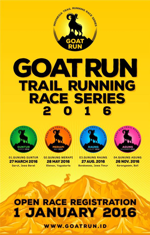 Goat Run - Trail Running Series - #4 Mt. Agung