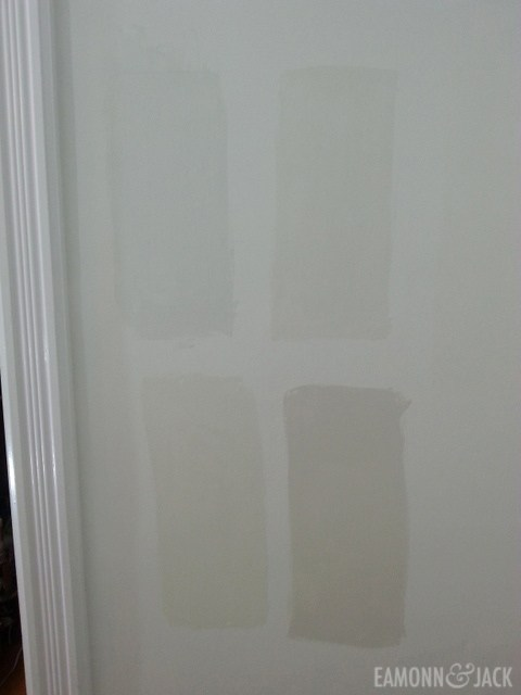 Off white wall paint options