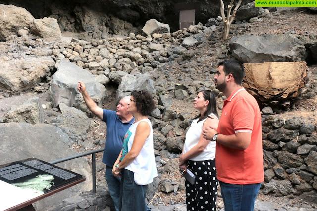 El Cabildo y el Ayuntamiento de Villa de Mazo se alían para devolver todo el encanto al Parque Arqueológico de Belmaco